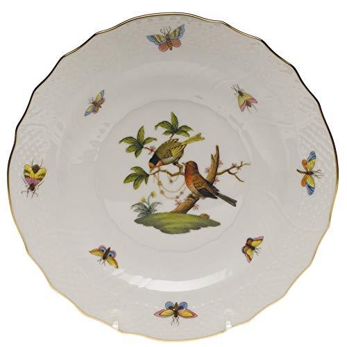 Herend Rothschild Bird Porcelain Salad Plate Motif #10