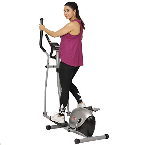 Cardio Max JSB HF151 Heavy Duty Elliptical Cross Trainer Magnetic Fitness Bike Exercise Cycle Home Gym Price & Reviews