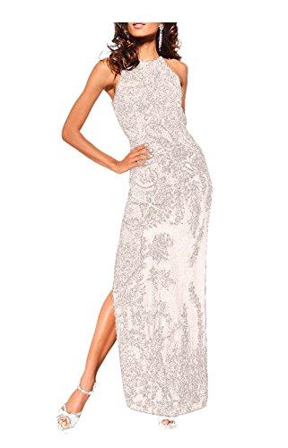 heiße Angebote suchen Infos für Heine Damen-Kleid Abendkleid mit Perlen Weiß Größe 23 (46 ...