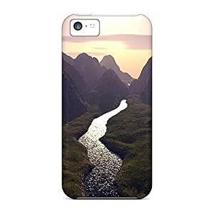 Perfect Artistic Beautiful River In The Valley Cases Covers Skin For Iphone 5c Phone Cases