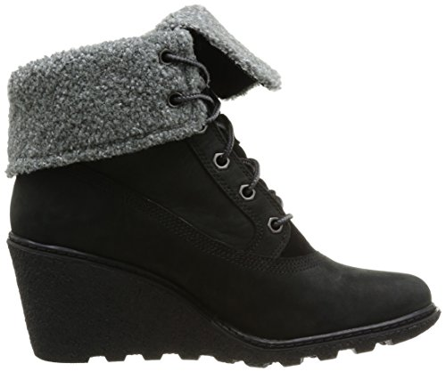 Women's Roll Boots Snow Black Amston C8258A Black Top Timberland zEqIFw
