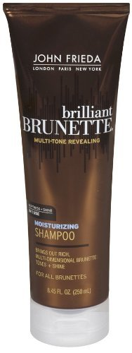 John Frieda Brilliant Brunette Multi-Tone revealing Moisturizing Shampoo for All Shades - 8.45 oz