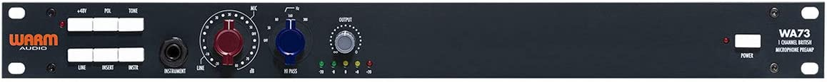 【国内正規品】 WARM AUDIO ウォームオーディオ マイクプリアンプ WA-73 キャンペーン対象商品