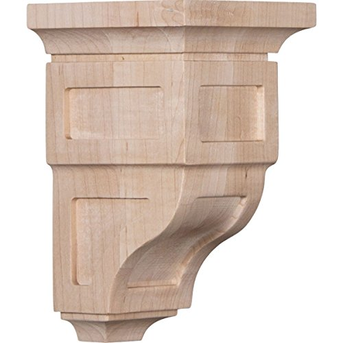 "Ekena Millwork CORW03X03X06RYRO Wood Corbel, 3 1/2"" for sale  Delivered anywhere in USA"