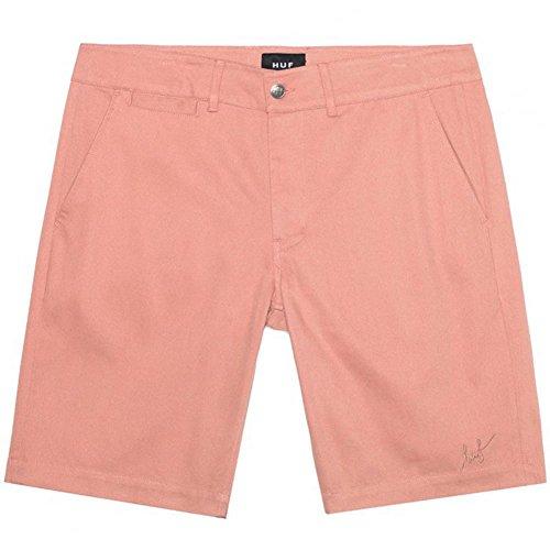 Huf Mens Fulton Chino Slim Shorts in Smoked Pink 30