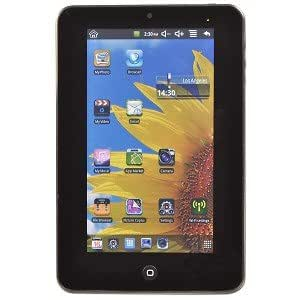 """RPAD 800MHz 256MB 4GB 7"""" Touchscreen Tablet Android 2.2 w/Webcam & microSDHC Slot"""