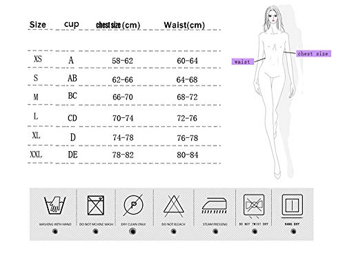 Sexy dimensioni S Bikini yi Bei In Con E Elasticizzato 51547bikini Retro Pizzo xFABqvE