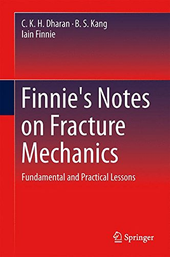 Finnie's Notes on Fracture Mechanics: Fundamental and Practical Lessons