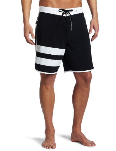 - Hurley Men's Phantom Block Party Solid Boardshort, Black/Hurley, 38