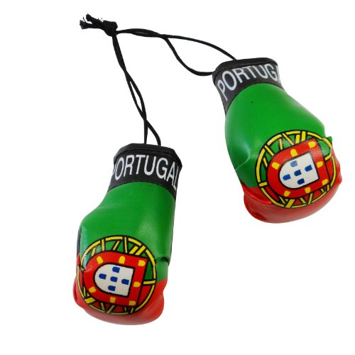 - Portugal Country Flag Mini Boxing Gloves to Hang Over Your Automobile Mirror ... New