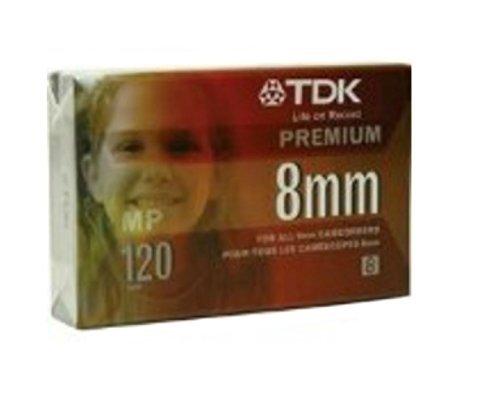TDK P-120HS Premium 8mm Cassette