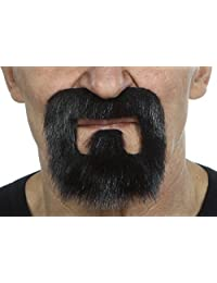 High quality Inmate lustrous fake beard, self adhesive