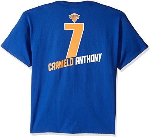 NBA New York Knicks Men's Majestic Athletics The Record Holder Player Name T-Shirt, X-Large, Royal