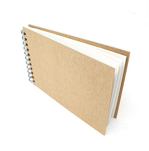 Spiral Sketch Book // Drawing Pad 100/% Recycled Hardcover Sketchbook Recycled 11 x 8.5 in Landscape Artway Enviro 170gsm // 105lb