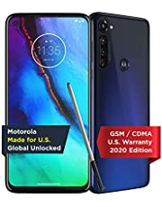 Moto G Stylus | Unlocked | Made for US by Motorola | 4/128GB | 48MP Camera | 2020 | Indigo