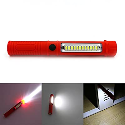 Led Night Light Flashlight Led Torch Lantern Work Light 13 Portable Led Lights Camping Bicycle Lamp With Built-in Magnet Clip
