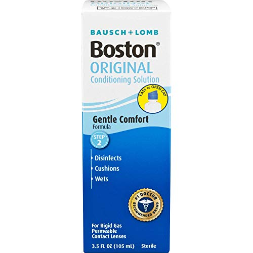 Bausch and Lomb Boston Conditioning Solution for Rigid Gas Permeable Contact Lenses 105mL (1 Box Only)