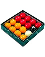 Aramith League Pool Balls - Red and Yellow - 2 inch