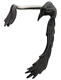 Raven Ear-Wing Ear Wrap - Single Earring for Left Ear