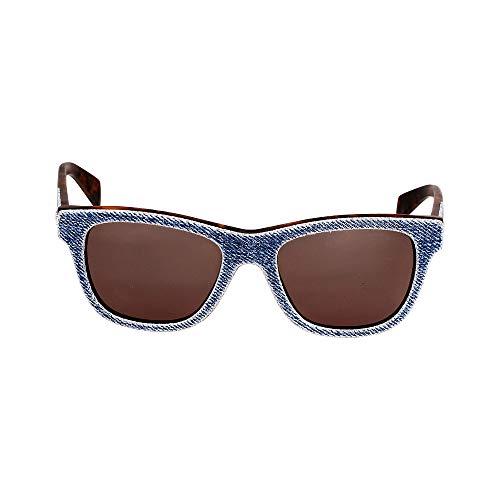 Diesel Acetate Frame Green Lens Unisex Sunglasses DL01115292N (Designer Square Sonnenbrille)