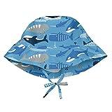 Kyпить i play. Toddler Boys' Bucket Sun Protection Hat, Blue Whale League, 2T/4T на Amazon.com