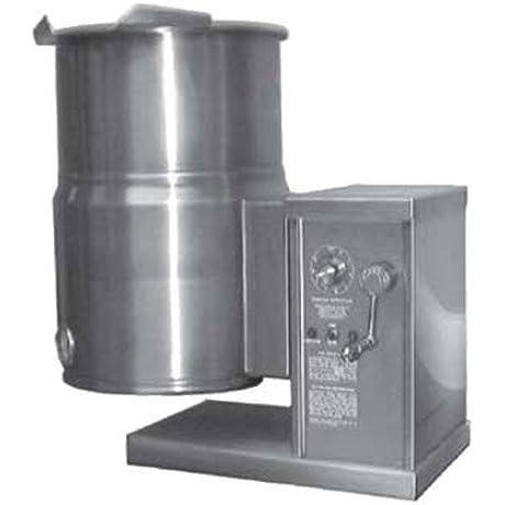 Southbend KECTC 10 10 Gallon Electric Countertop Steam Kettle W Crank