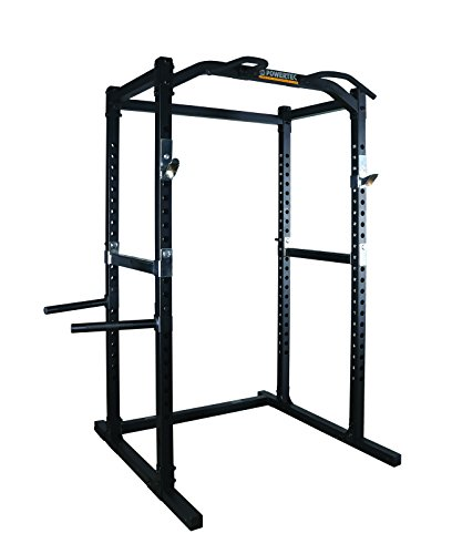 (Powertec Fitness Work Bench Power Rack, Black)
