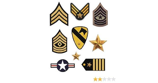 8 parches militar serigrafiados para planchar - REF.465-U8: Amazon ...