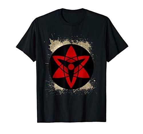 (Sasuke Mangekyo Sharingan eye contact shinobi symbol T-Shirt)