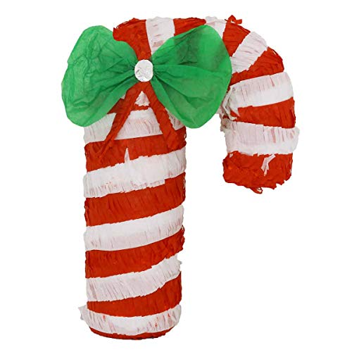 LYTIO Candy Cane Pinata This Peppermint Stick Piñata Will Decorate your Christmas With Joy Can Also Be Used As Photo Prop Or Classic Piñata Game -