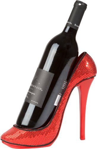 high heel wine charms - 6