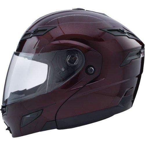 (GMax GM54S Wine Modular Street Helmet -)