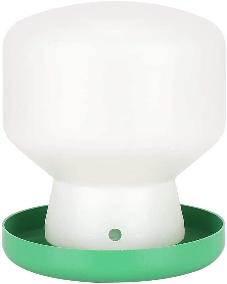 HEREB Alimentador-Dispensador de Agua para p/ájaros Alimentador de p/ájaros Alimentador autom/ático de bebederos de Palomas para Loros Starling