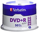 Verbatim(R) Life Series DVD+R Spindle, Pack Of 50