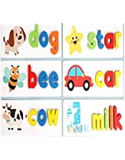 Letter Recognition Spelling Game, Preschool Learning Toys Early Childhood Education, Children Learn English Toys at Home, Parent-Child Interactive Fun Game