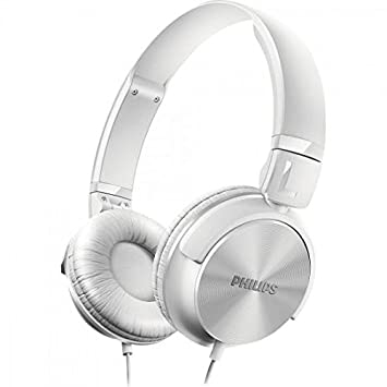 Philips Shl3060wt Casque Audio Pliable à Plat Conception Fermée