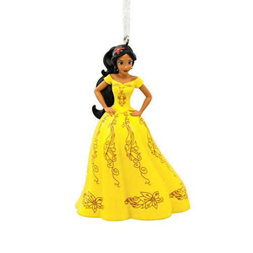 Hallmark Christmas Ornament Disney Elena of Avalor Holiday Yellow Dress