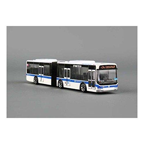"Brand New 6"" New York Metro MTA diecast Bus model bus 6""L x 1""W x 1.25""H"