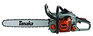 Tanaka TCS40EA18 18-Inch 40cc 2-Stroke Gas Powered Rear Handle Chain Saw (CARB Compliant)