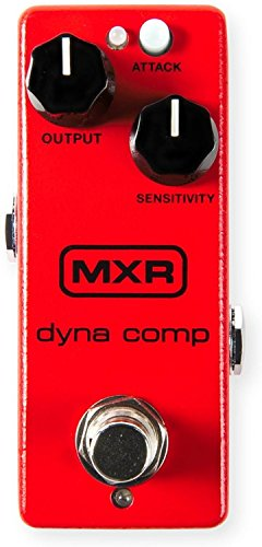 MXR M291 Dyna Comp Mini Compressor Pedal w/Bonus Dunlop PVP101 Pick-Pack (x12) 710137096998 by LuLu