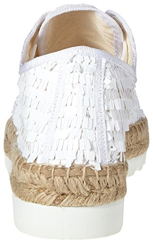 Donna Bianco Blanco candies Espadrillas I love 1033 Laces 1UxTn1gIz