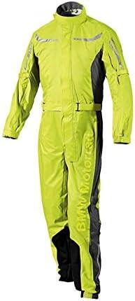 BMW Genuine Motorcycle Unisex ProRain Rain Overall Riding Unisex Suit Yellow XL