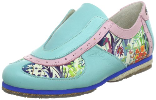 Multicolore Light Scarpe Steps Donna Samurai mehrfarbig Pink turquoise Stork Stringate 1wXq8ZnPn