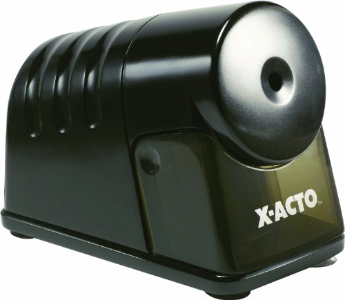 X-ACTO Powerhouse Electric Sharpener, Black (1799)