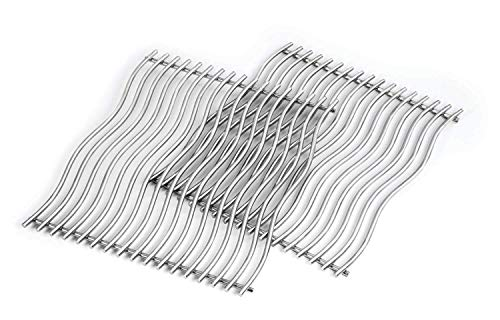 Napoleon Stainless Steel Wave Cooking Grids for Prestige 500 Grills, (S83011)