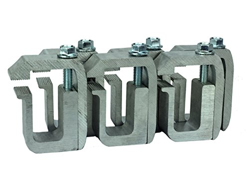 GCI G-1 Clamp for Truck Cap / Camper Shell (set of 6). Made with Structural Aluminum to Ensure Quality and Strength.