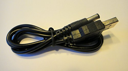ienza Replacement USB Transmitter Power Cable for Turtle Beach RF Transmitters by ienzaGenCables (Turtle Beach Px5 Ps3)