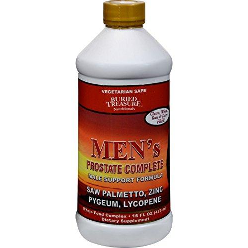 Complete Buried Treasure (Buried Treasure Men's Prostate Complete - 16 fl oz - Vegetarian Safe - Gluten Free)