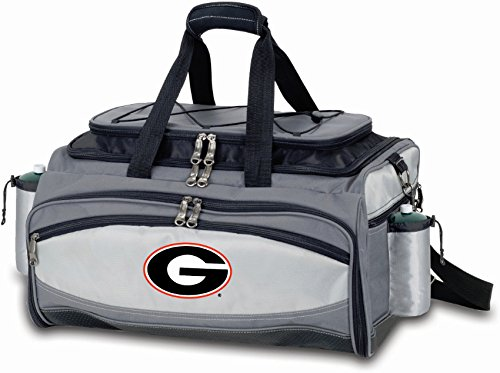 (PICNIC TIME NCAA Georgia Bulldogs Embroidered Vulcan Set, One Size, Black)