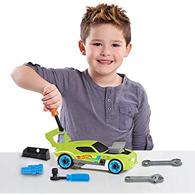 Hot Wheels Ready to Race Car Builder - 29 Pieces: Toys & Games